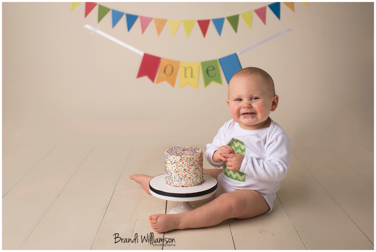 First Birthday Smash Cake Mexican