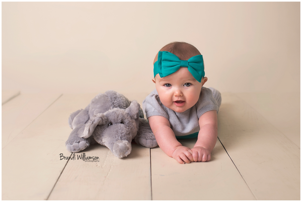 New Philadelphia baby photographer 44663 | Tuscarawas County Ohio | www.brandiwilliamsonphotography.com | 6 month sitter milestone session