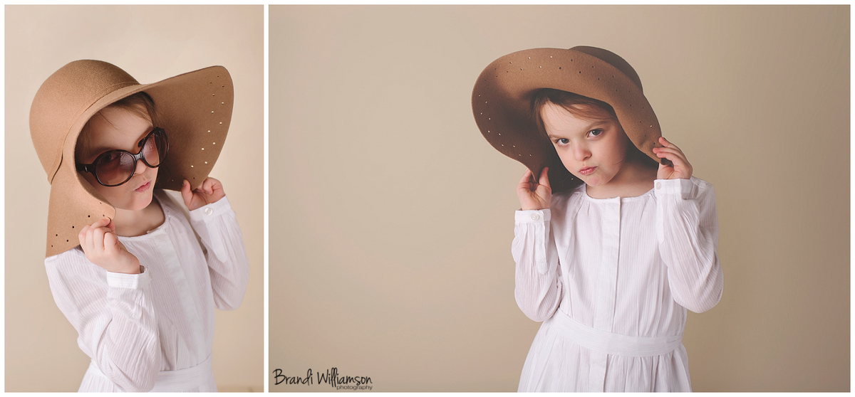 Uhrichsville OH Baby + Child Photographer | Tuscarawas County studio photography | www.brandiwilliamsonphotography.com | 6 year old girl photo session