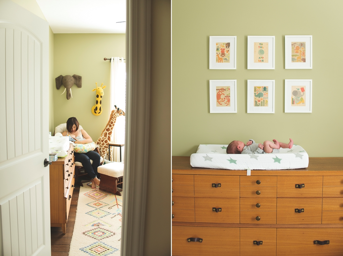 Canton Lifestyle Photographer, In-Home Newborn Session