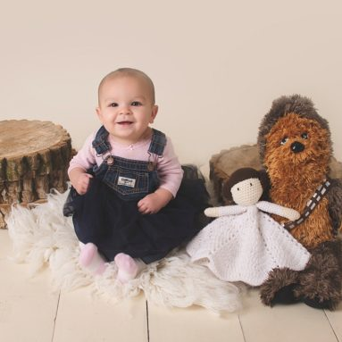 New Philadelphia Ohio Child Photographer, siblings, sibling photo, studio photography, studio photographer, dover ohio photographer, brandi williamson photography, star wars, star wars photo, star wars props
